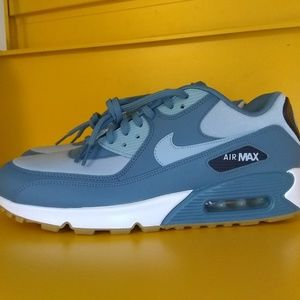 NEW Nike Air Max 90 Blue Size 10 Men's NWT